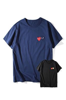 【コムデギャルソン COM*E des GA*ÇONS】 ネーム有り 高品質 メンズ レディース 半袖Tシャツ aat4205