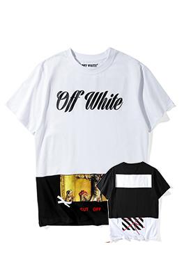 【オフホワイト OFF-WHITE】 超高品質 メンズ レディース 半袖Tシャツ  aat4208