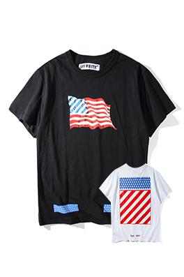 【オフホワイト OFF-WHITE】 超高品質 メンズ レディース 半袖Tシャツ  aat4209