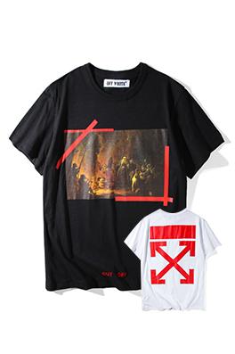 【オフホワイト OFF-WHITE】 超高品質 メンズ レディース 半袖Tシャツ  aat4211