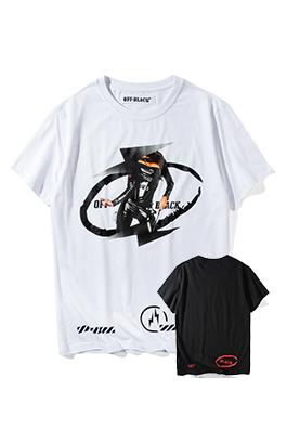 【オフホワイト OFF-BLACK】 超高品質 メンズ レディース 半袖Tシャツ  aat4212