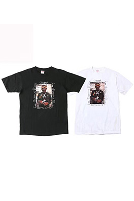【シュプリーム S*PREME】Lee Scratch Perry Snop Dogg   半袖Tシャツ aat6601