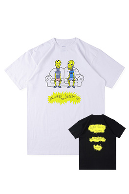 【ASAP ROCKY】 INJURED GENERATION TOUR MERCH TEE  半袖Tシャツ aat6973