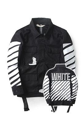 【オフホワイト OFF-WHITE】 ジャケット アウター メンズファッション ajk0549