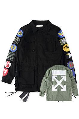 【オフホワイト OFF-WHITE】   ジャケット アウター メンズファッション ajk0585