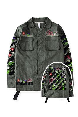 【オフホワイト OFF-WHITE】  ジャケット アウター メンズファッション ajk0594