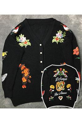 【グッチ GUC*I】   高品質  ニット セーター カーディガン アウター メンズファッション  ajk0674
