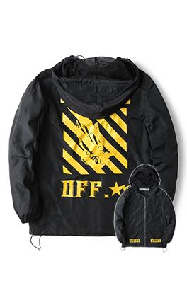 【オフホワイト OFF-WHITE】超高品質 ジャケット アウター メンズファッション  ajk0737