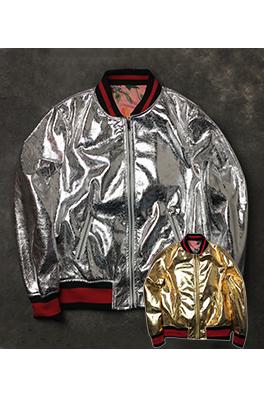 【グッチ GUC*I】ネーム有り 高品質 ジャケット アウター メンズファッション  ajk0744