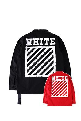 【オフホワイト OFF-WHITE】高品質 ジャケット アウター メンズファッション  ajk0752