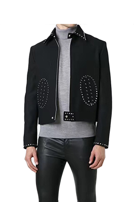 【サンローラン SAINT LAU*ENT】  高品質 ジャケット アウター メンズファッション  ajk0778