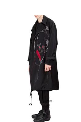 【ヨウジヤマモト Yohji Yam*moto】 高品質 ジャケット アウター メンズファッション  ajk0780