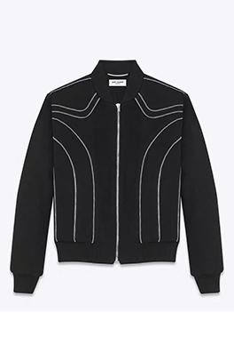 【サンローラン SAINT LAU*ENT】 高品質 ジャケット アウター メンズファッション  ajk0781