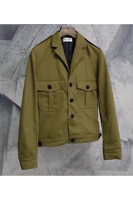 【サンローラン SAINT LAU*ENT】 高品質 ジャケット アウター メンズファッション  ajk0784