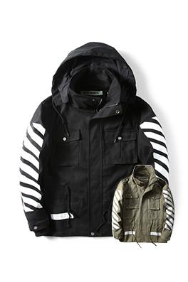 【オフホワイト OFF-WHITE】超高品質 ジャケット アウター メンズファッション  ajk0807