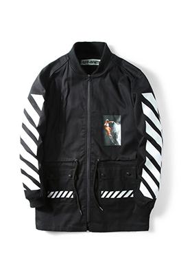 【オフホワイト OFF-WHITE】超高品質 ジャケット アウター メンズファッション  ajk0824