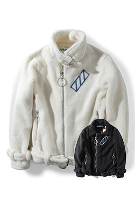 【オフホワイト OFF-WHITE】高品質  秋冬  ジャケット アウター メンズファッション  ajk0845