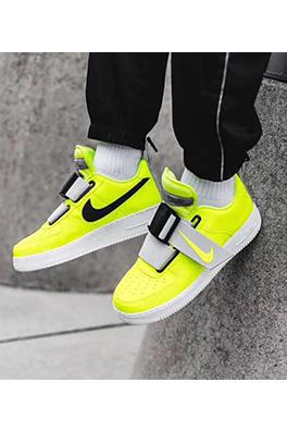 "【ナイキ NIK*】NIKE AIR FORCE 1 UTILITY QS""Volt""限定 スニーカー  ash2173"