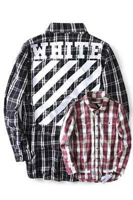 【オフホワイト OFF-WHITE】超高品質 限定品  シャツ ay0375