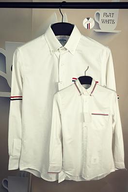 【トムブラウン THOM BR*WNE】メンズファッション 流行り  シャツ ay0376