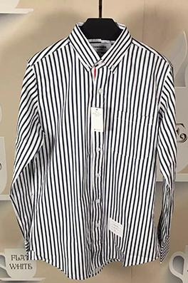 【トムブラウン THOM BR*WNE】メンズファッション 流行り  シャツ ay0378