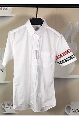 【トムブラウン THOM BR*WNE】メンズファッション 流行り  シャツ ay0379