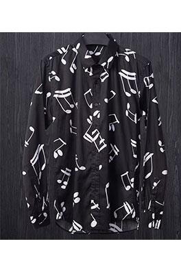 【サンローラン SAINT LAU*ENT】 高品質 メンズファッション 流行り  シャツ ay0383