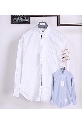 【トムブラウン THOM BR*WNE】 高品質 メンズファッション 流行り  シャツ ay0388