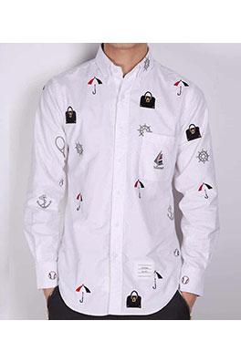 【トムブラウン THOM BR*WNE】 高品質 メンズファッション 流行り  シャツ ay0390