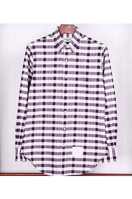 【トムブラウン THOM BR*WNE】 高品質 メンズファッション 流行り  シャツ ay0391