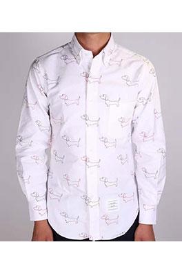 【トムブラウン THOM BR*WNE】 高品質 メンズファッション 流行り  シャツ ay0392