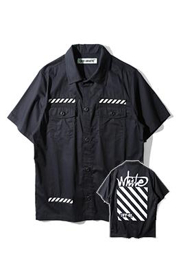 【オフホワイト OFF-WHITE】 超高品質 メンズファッション 流行り  シャツ ay0396
